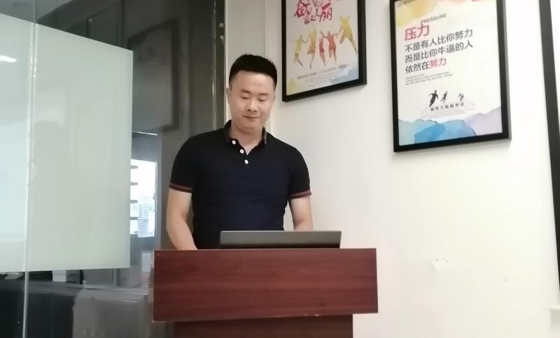 ▲技术部总监 刘林东